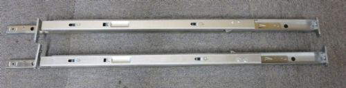 Accuride 01 02 1 Left & Right Ball Bearing Server Rack Data Cabinet Rails 28""